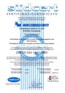 ISO14001:2008 گواهینامه استاندارد سیستم مدیریت زیست محیطی